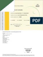 Certificado de Degustação de Vinhos - Lucas Schuab Vieira
