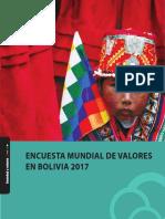 Encuesta Mundial de Valores en Bolivia 2017