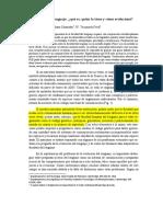 HAUSER CHOMSKY FITCH La Facultad Del Lenguaje Que Es Quien La Tiene y Como Evoluciono 2