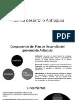 Plan de Desarrollo Antioquia