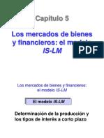 Tema 5 Mercados Bienes-financieros is-lm