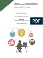 Manual Administracion de Proyectos