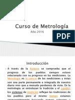 Curso de Metrología 2016