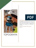 Bitacora Topografia