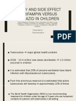 Safety and Side Effect of Rifampin Versus Isoniazid