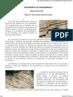 Tectonica y Geologia Estructural