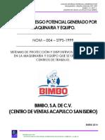 1 Nom 004 Stps 1999 Bimbo Puerto Escondido