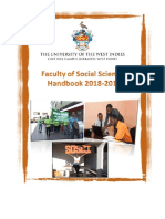 Uwi Faculty Handbook 2018 2019 Draft2