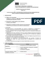 ÍTEM N° 28 - AUXILIAR ADMINISTRATIVO CCR PASCO - PRE