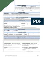 Assessment I - Operational Management