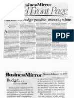 Business Mirror, Feb. 11, 2019, Lawsuit over busget possible-minority solons.pdf