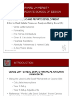 Introduction to Real Estate Financial Analysis Using Excel (a)