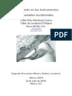 El diapasón en los instrumentos entrastados occidentales. - PDF.pdf