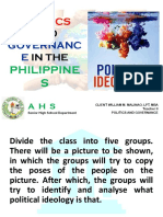 3rd Week -political Ideologies and the community.pptx
