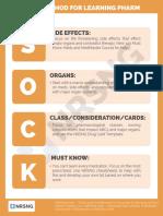 Pharm 1.31 SOCK Method for Learning Pharm 1