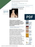 Patrimônio Cultural Imaterial - definição da UNESCO