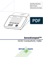 Operating Manual for S230 Conductivity Meter