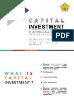 Capital Investment Ampa 2 Mustafa