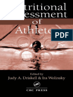 (Nutrition in exercise and sport) Judy A. Driskell, Ira Wolinsky - Nutritional Assessment of Athletes-CRC Press (2002).pdf