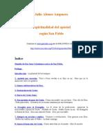 Ampuero Julio Alonso - Espiritualidad Del Apostol Segun San Pablo