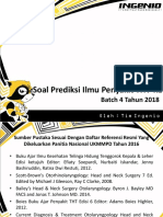 [Future Doctor] Soal to 2 Batch 2 2018