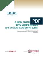 2011 Ioug Data Warehousing Survey 522175