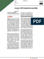 Università Aperta per 2300 studenti da tutta Italia - Il Corriere Adriatico del 9 febbraio 2019