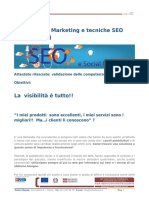 Social Media Marketing e Tecniche SEO Sede Torino