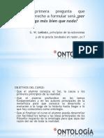 Curso - Ontología 1