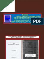 Laporan Kegiatan Penambangan Batubara PT SUM (Dalam Gambar) si site IUP OP Rukun Dadi Muara Badak Kaltim
