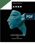 Bibliography on Akhenaten and Nefertiti