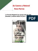 Comida Casera y Natural Para Perros La Dieta BARF ACBA