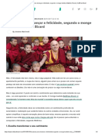 4 Passos Para Alcançar a Felicidade, Segundo o Monge Budista Matthieu Ricard _ HuffPost Brasil