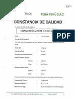 Certificado de Calidad de Cobertura TAT