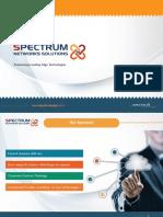 Business Portfolio - Spectrum Networks Solutions