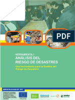 Análisis Del Riesgo de Desastres