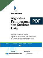 Modul Algoritma Dan Struktur Data