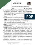Compromiso de Pp.ff 2019