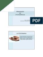Fitoterapia e a Prescrição Conforme a Lei