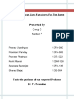 ME - Telecom Industry Cost