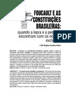 Foucault e as Constituições Brasileiras - Copia