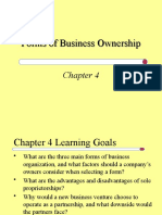 Forms of Business ion - Prep I Class