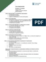Temario Historia de la Arquitectrua II