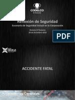 Reflexioìn de Seguridad Acc Fatal 2018