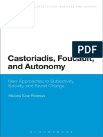 Tovar-Restreppo - Castoriadis-Foucault-and-Autonomy-New-Approaches-to-Subjectivity-Society-and-Social-Change.pdf