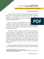 Desenvolvimento Sustentável_ Idéias Sobre a Perspectiva Da Integração 1