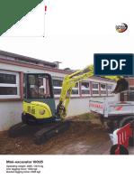 Yanmar Mini Excavator Vio25
