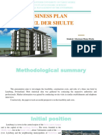Business Plan Hotel Der Shulte