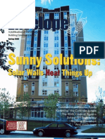 SolarWall - Pushing the Envelope Magazine Article - Ontario Building Envelope Council