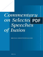 (Mnemosyne Supplements_ Monographs on Greek and Latin Language and Literature 364) Brenda Griffith-Williams-A Commentary on Selected Speeches of Isaios-Brill Academic Publishers (2013)